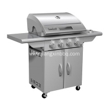 Stainless Steel 4 Burners Propane Gas BBQ